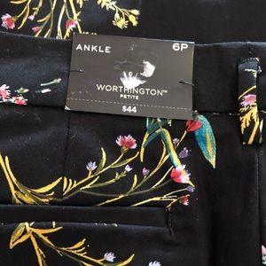 Worthington Pants - 🆕Worthington printed pant 6P